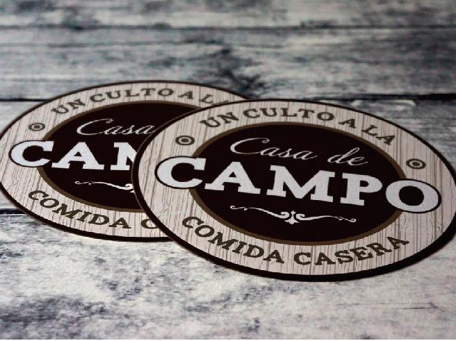 diseño de portavasos para restaurante en cancun